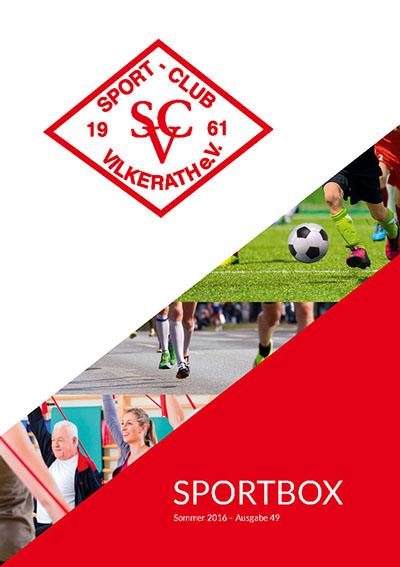 SCV-Programm- Sportrasen Einweihungsfeier